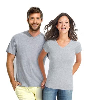 Ανδρικό & Γυναικείο μπλουζάκι με ανοιχτό λαιμό - VICTORY & MOON