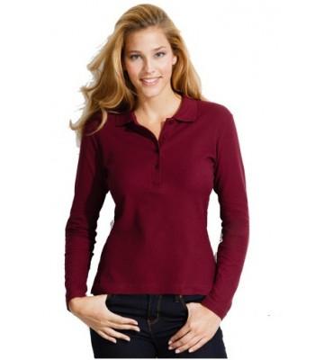 Μακρυμάνικη Γυναικεία μπλούζα πόλο - PODIUM